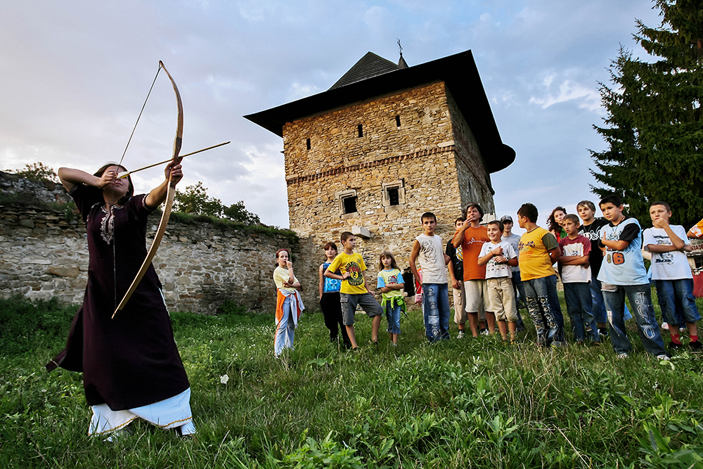 Medieval Art Evenings in the Throne Citadel of Moldova