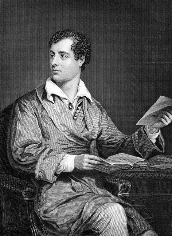 10. Lord Byron