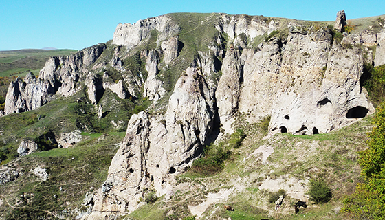 6. Goris Caves